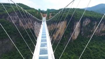 03-09-2016 10:10 Zamknięto najwyższy szklany most na świecie. Powód? Natłok turystów