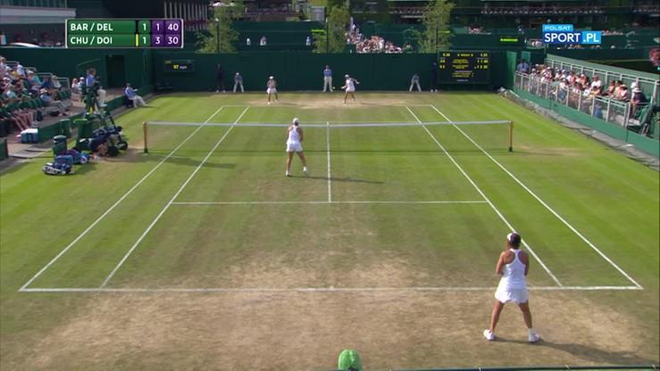 Najładniejsze akcje Wimbledonu - 07.07
