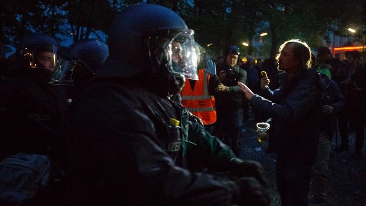 Skrajnie lewicowa demonstracja w Berlinie. Zatrzymano 40 osób