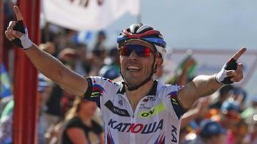 2015-09-06 Majka na podium Vuelta a Espana!