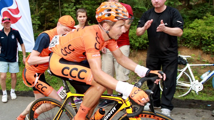 Bałtyk-Karkonosze Tour: Zwycięstwo kolarza CCC Sprandi
