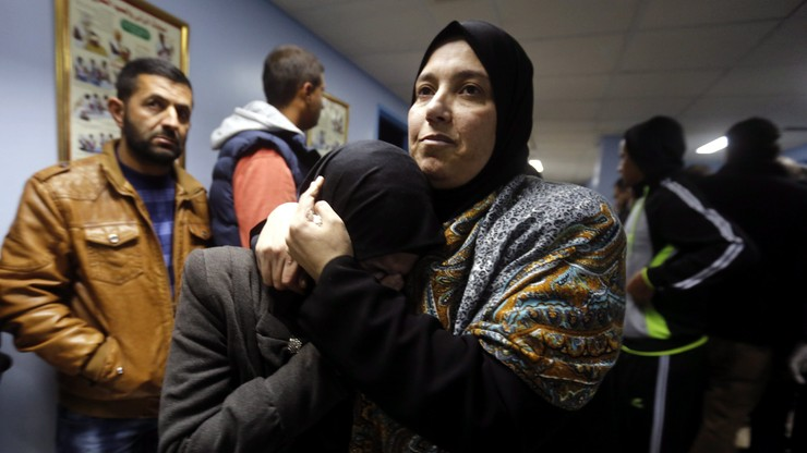 170 Palestyńczyków i 26 Izraelczyków zginęło w atakach w 2015 r.