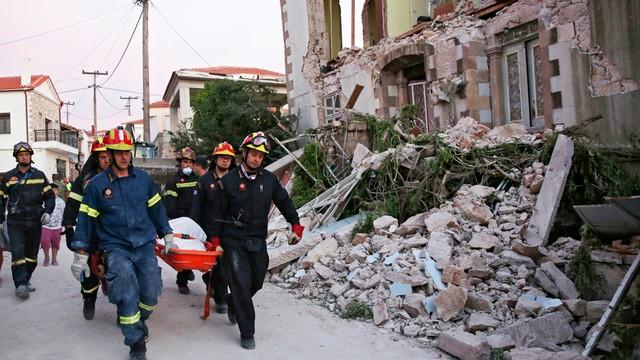 Grecja: ofiary śmiertelne trzęsienia ziemi to turyści z Turcji i Szwecji