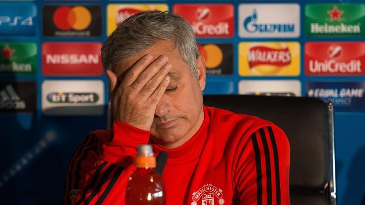 Na konferencję prasową Mourinho przyszedł... jeden dziennikarz