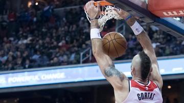 2017-11-16 NBA: Gortat nie trafił rzutu z gry, ale Wizards pokonali Heat