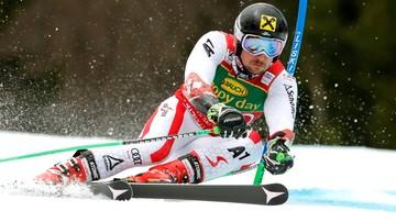 2017-03-04 Alpejski PŚ: Austriak Hirscher z szóstą Kryształową Kulą