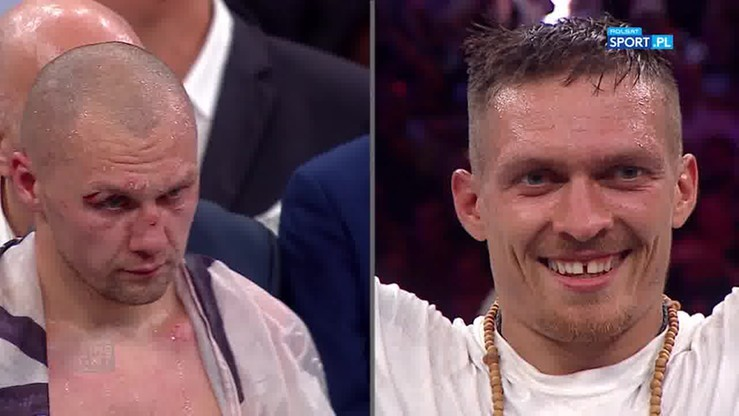Krzysztof Głowacki - Oleksandr Usyk. Skrót walki