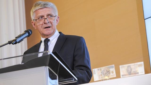 Belka: W sprawie ustawy frankowej powinien wypowiadać się prezes Glapiński