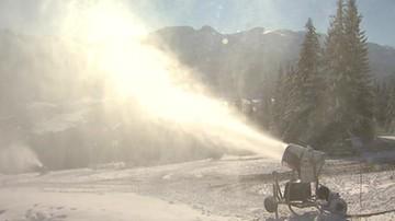 Dosnieżanie stoków narciarskich