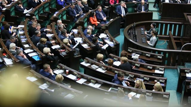 Sejm nie zajmie się projektem zmian w ustawie o KRS