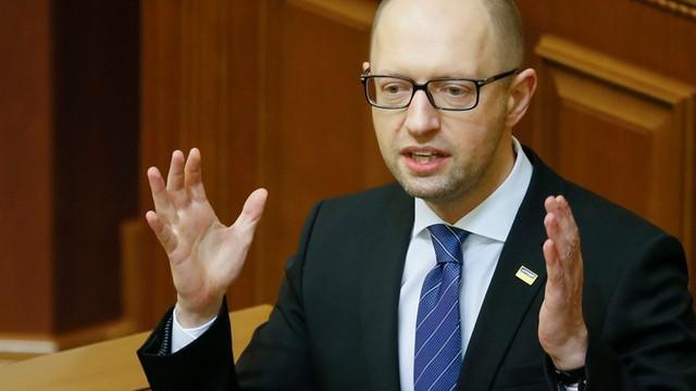 Ukraina: Premier Jaceniuk podał się do dymisji