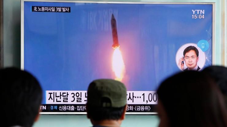 USA potępiły próby rakietowe Korei Płn. Chiny apelują o unikanie napięć