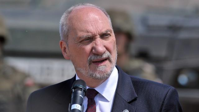 Macierewicz: NATO nie pozwoli nikomu naruszyć naszych granic