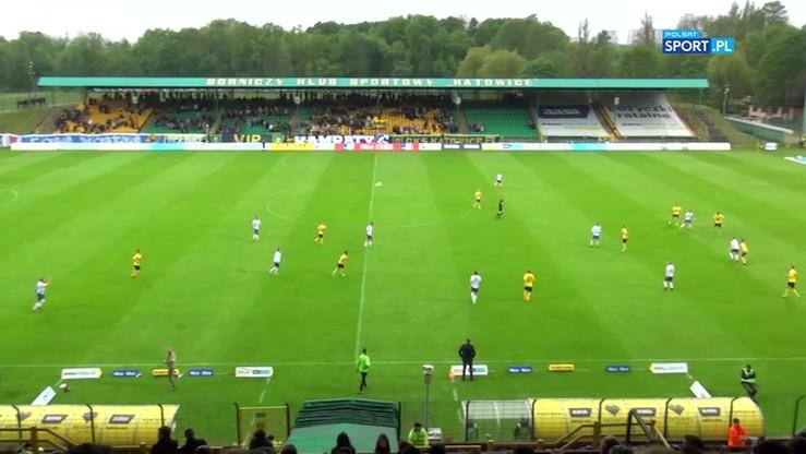 GKS Katowice - MKS Kluczbork 2:3. Skrót meczu