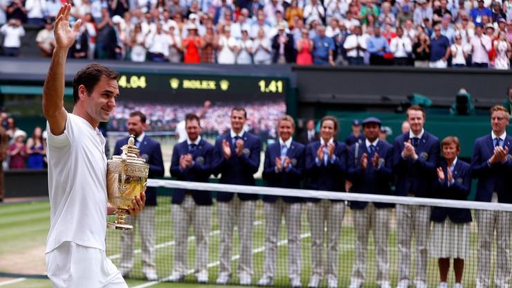 Ranking ATP: Murray wciąż liderem, awans Federera
