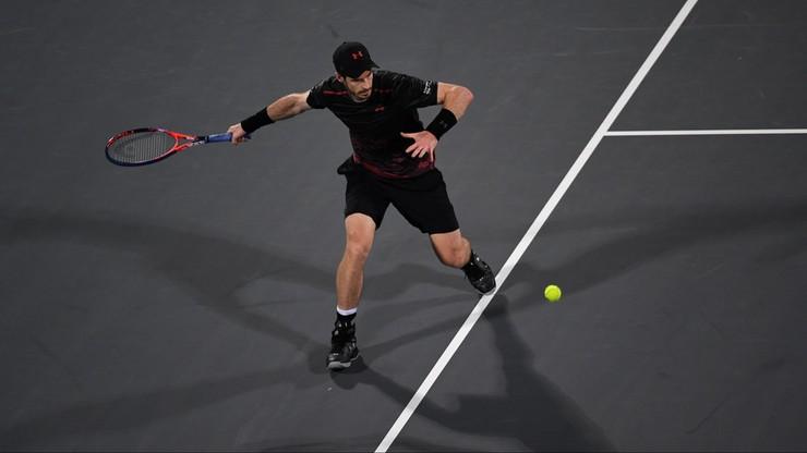 ATP i WTA w Brisbane: Murray wycofał się, krecz Muguruzy