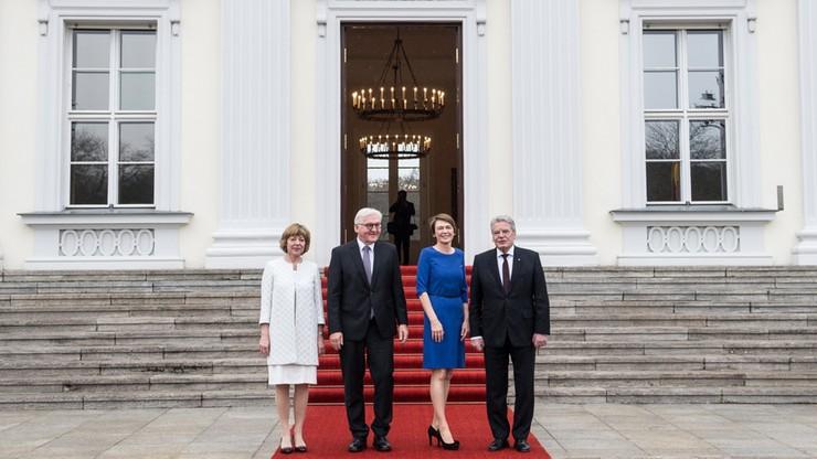 Steinmeier symbolicznie przejął prezydenturę. Zaprzysiężenie w środę