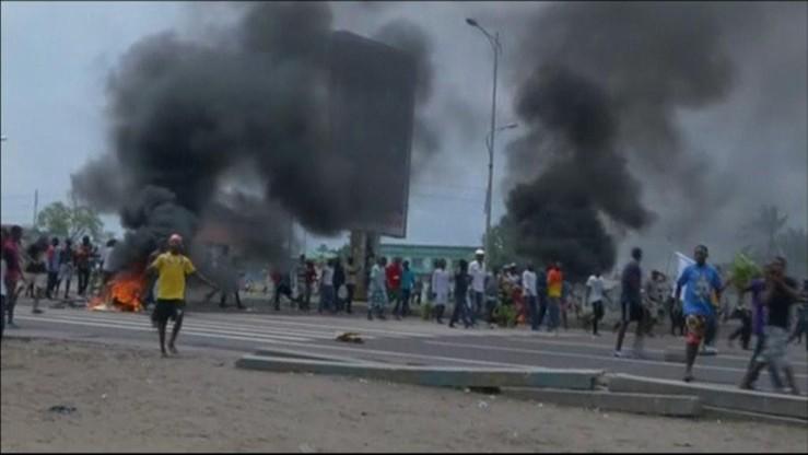 Kolejne zamieszki w Demokratycznej Republice Konga. Zginęło co najmniej 10 osób