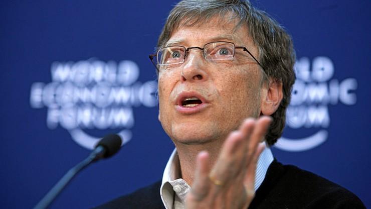 Bill Gates bogaty jak nigdy. 90 miliardów dolarów na koncie