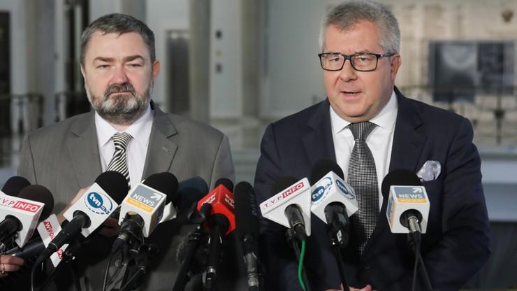 Czarnecki: politycy z Nowoczesnej czy z Platformy idą pod rękę z szefem Związku Wypędzonych