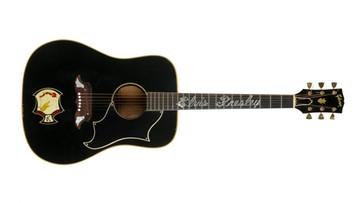 22-05-2016 06:43 Rekordowa cena gitary Presleya na aukcji w Nowym Jorku. Drogo sprzedana też kurtka Jacksona