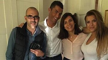 2015-11-18 Ronaldo ma dziewczynę? Spotyka się z córką swojego agenta