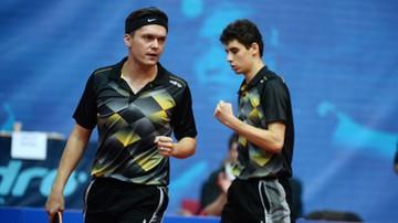 2015-10-25 WT w tenisie stołowym: Dyjas i Górak przegrali finał debla w Warszawie