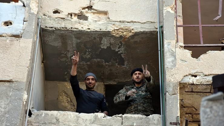 Kolejna dzielnica Aleppo odbita z rąk dżihadystów