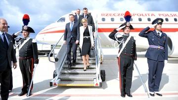 16-05-2016 17:51 Prezydent Duda rozpoczyna trzydniową wizytę we Włoszech