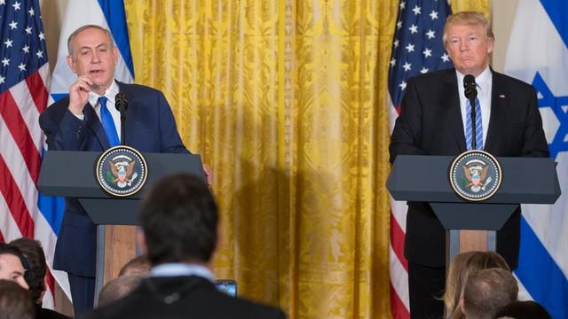Trump wzywa Izrael i Palestynę do kompromisu