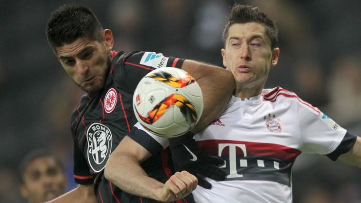 Lewandowski zatrzymany we Frankfurcie. Bayern po raz pierwszy stracił punkty