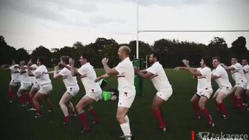 2015-09-16 PŚ w rugby: Hakarena! Parodia słynnej nowozelandzkiej Haki