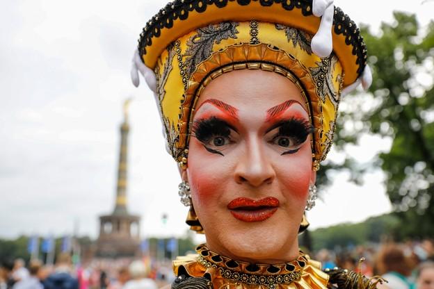 Parada równości w Berlinie