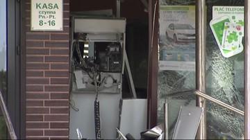 Wysadzili bankomat. Ukradli kilkadziesiąt tysięcy złotych