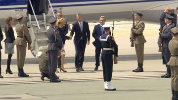 07-07-2016 14:07 Stoltenberg przybył do Warszawy na szczyt NATO. Spotkanie z prezydentem
