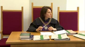 W południe odbyły się zebrania sędziów. Przerwa w rozprawach na pół godziny