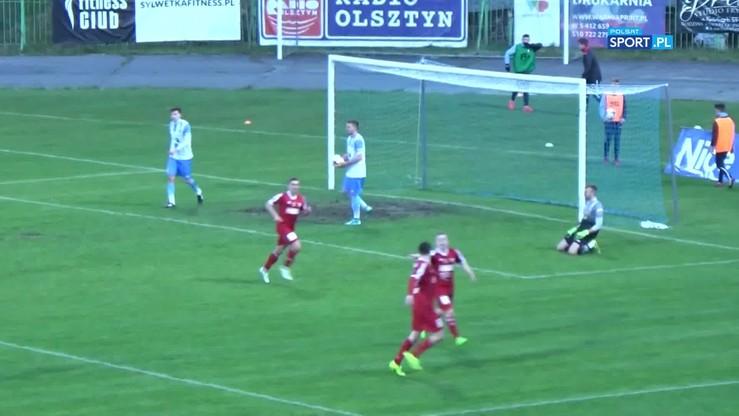 2017-05-01 Stomil Olsztyn - Pogoń Siedlce 1:1. Skrót meczu