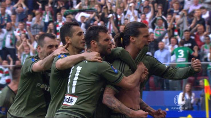 Lech - Legia 0:1: Prijovic w stylu Zlatana!