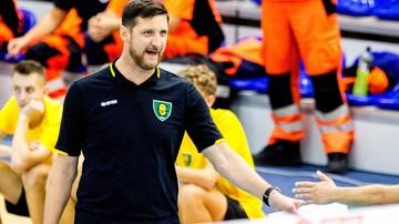 2016-11-13 Gruszka po meczu z Resovią: Z takimi zespołami trzeba walczyć o zwycięstwo