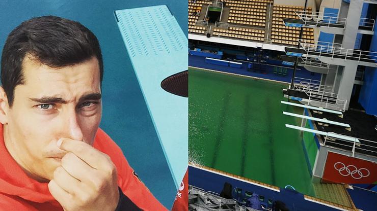 Olimpijski basen zamknięty. Najpierw zmienił kolor, teraz nieprzyjemnie pachnie