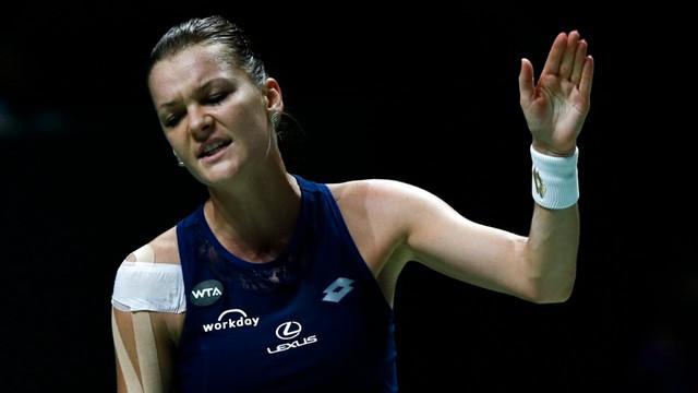 WTA Finals – Radwańska przegrała w swoim pierwszym meczu Szarapową