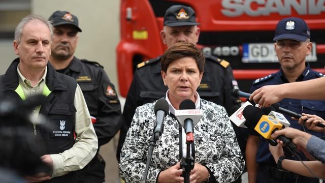 Nowoczesna oskarża premier Szydło o zbyt wolne działania rządu po nawałnicach