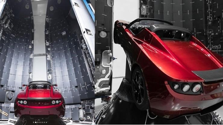Elon Musk wyśle Teslę w kosmos. Właśnie wstawił ją do rakiety kosmicznej