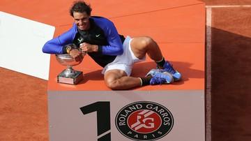 2017-06-12 French Open. Media: Pozaziemski Nadal, król kortów ziemnych