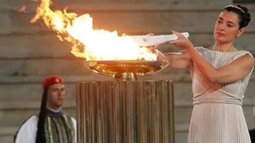 2018-01-08 Pjongczang 2018: Polska zmiana w sztafecie z ogniem olimpijskim