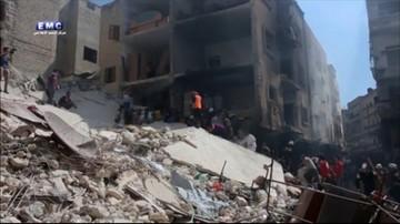 Syria: odrzutowce zbombardowały Idlib. Są zabici