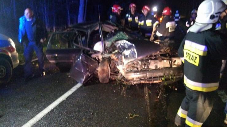 Ciężko ranni kierowcy. Dwa różne miejsca, niemal identyczne zderzenia. Z łosiami