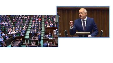 Sejmowa debata o SN. Wystąpienie Sławomira Neumanna