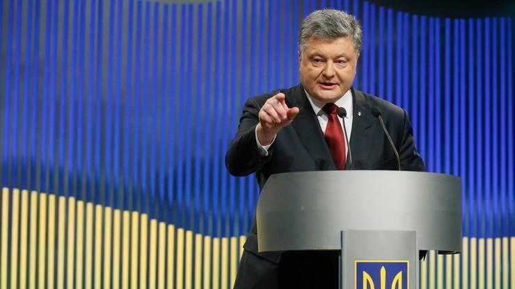 """Poroszenko: odzyskanie Krymu najważniejszym zadaniem. """"Nigdy nie uznamy aneksji"""""""