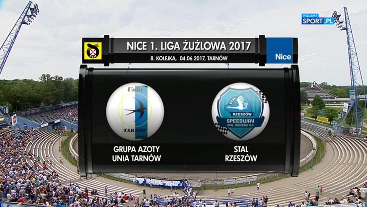 Grupa Azoty Unia Tarnów - Stal Rzeszów 62:28. Skrót meczu